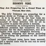 Irish / April 1892