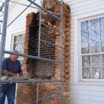 Rebuilding chimney